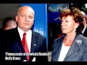 Spotkanie Komisarz Nelly Kroess z NSZZ Solidarność